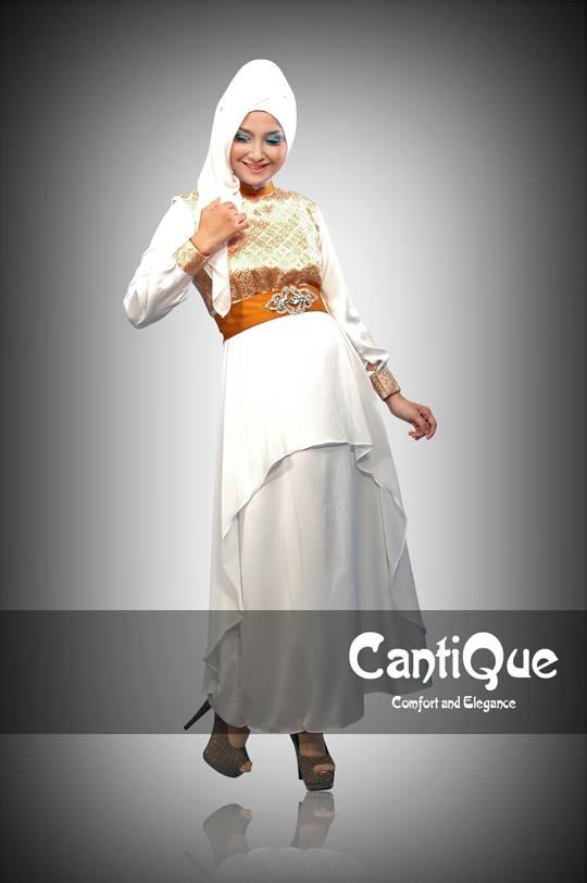 Gamis Batik Cantik Modern Cinta Damayanti