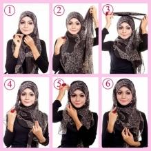Panduan Cara Memakai Jilbab Untuk Wajah Bulat