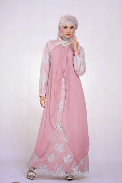 Gaun Pesta Muslimah Exclusive