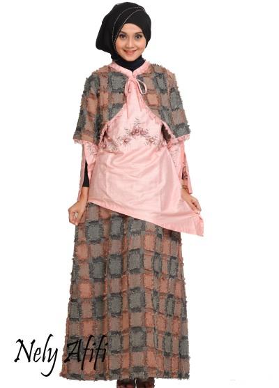 busana-muslim-wanita-terbaru-2017-blazer-batik-bordir-kombinasi-satin