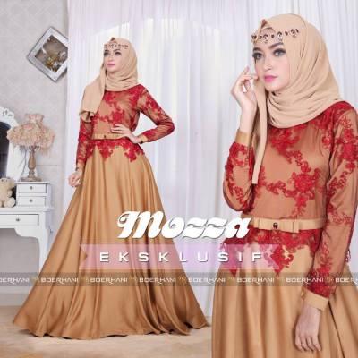 25 Model Busana Muslim Wanita Terbaru 2017 Yang Paling