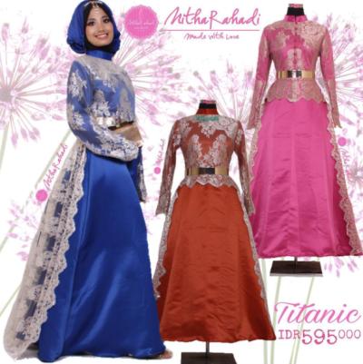 busana-muslim-wanita-terbaru-2017-model-gamis-modern-untuk-pesta-kombinasi-brokat-dan-satin