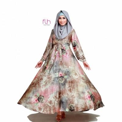 busana-muslim-wanita-terbaru-2017-model-gamis-modern-untuk-remaja